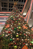 Christmas tree in Kowloon Tong. Christmas tree in Festival Walk mall in Kowloon Tong on 2016 Stock Image