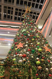 Christmas tree in Kowloon Tong. Christmas tree in Festival Walk mall in Kowloon Tong on 2016 Royalty Free Stock Photos