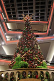 Christmas tree in Kowloon Tong. Christmas tree in Festival Walk mall in Kowloon Tong on 2016 Stock Images
