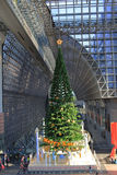 Christmas tree at Kyoto Station  in Kyoto Royalty Free Stock Photos