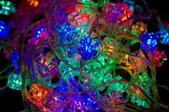 Christmas-tree light Stock Images