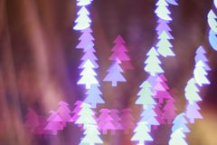Christmas tree light bokeh. Star light bokeh, abstracts background, backdrop, celebrate, sparkle, Christmas, colorful, xmas, party royalty free stock photography