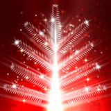 Christmas tree light vector background Royalty Free Stock Photography