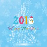 Christmas tree from light vector background. Greeting card or invitation. Eps 10. Merry Christmas and New Year 2018. Christmas tree from light vector background Stock Photo