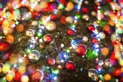 Christmas tree and lights Royalty Free Stock Photography