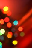 Christmas tree lights Stock Photos