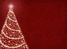 Christmas Tree Lights royalty free illustration