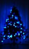 Christmas tree lights stock photos