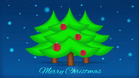 Christmas Tree with Lights. Motion Loop Background stock video footage