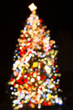 Christmas Tree Lights Royalty Free Stock Image