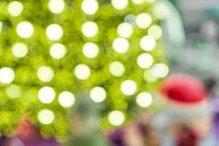 Yellow and green lights blurred. royalty free stock photos
