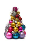 Christmas tree made out of toys Stock Image