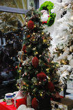 Christmas tree. The magic of the Christmas tree with its lights and its colors Royalty Free Stock Photography