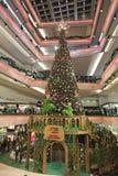 Christmas tree at mall 2016. Christmas tree at Festival Walk mall at 2016 Royalty Free Stock Images