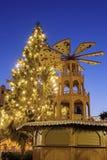 Christmas tree on Marktplatz Royalty Free Stock Images