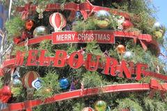 Christmas tree Melbourne Stock Photo