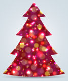 Christmas tree. New Year decoration Royalty Free Stock Photos