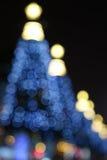 Christmas tree at night Royalty Free Stock Photography