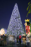 Christmas Tree by night in Orlando, Florida Royalty Free Stock Photography