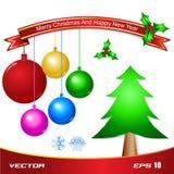 Christmas tree object Stock Photo