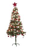Christmas_tree_one Stock Afbeeldingen