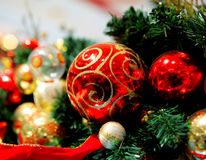 Christmas tree ornament. Close up Royalty Free Stock Photography