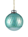 Christmas tree ornament. Islated on white background Royalty Free Stock Photo