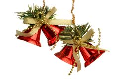 Christmas Tree Ornament, ball, decorations. Isolated white background. Stock Photo