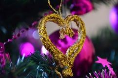 Christmas tree ornament Stock Photos
