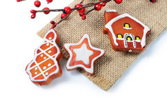 The christmas tree ornaments Royalty Free Stock Photos