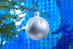 Christmas tree ornaments, Stock Images