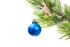 Christmas tree ornaments. Royalty Free Stock Images