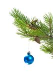 Christmas tree ornaments. Stock Images
