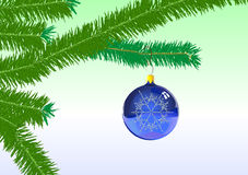 Christmas Tree Ornaments Royalty Free Stock Photography