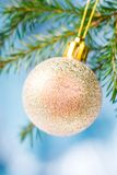 ,Christmas tree ornaments royalty free stock photography