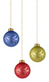 Christmas tree ornaments Royalty Free Stock Photos
