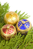 Christmas Tree Ornaments Royalty Free Stock Photo