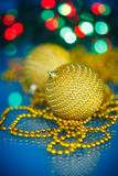 Christmas tree ornaments and balls Royalty Free Stock Images