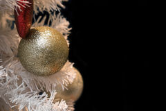 Christmas Tree Ornaments and Decorations Royalty Free Stock Photos