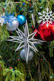 Christmas Tree Ornaments. For The Holiday Stock Photography