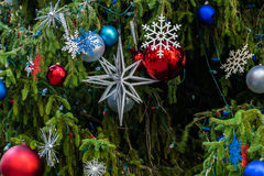Christmas Tree Ornaments. For The Holiday Royalty Free Stock Images