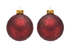 Christmas Tree Ornaments I Stock Photography
