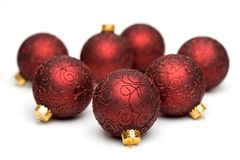 Christmas Tree Ornaments III Stock Photo
