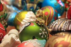Christmas tree ornaments. Christmas ornament, during the winter season Royalty Free Stock Photography