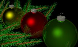 Christmas Tree Orniment Royalty Free Stock Images