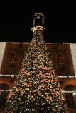 Christmas tree in Ostrava Stock Photo