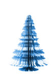 Christmas tree from the paper Royalty Free Stock Photo