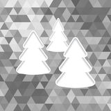 Christmas tree paper Royalty Free Stock Images