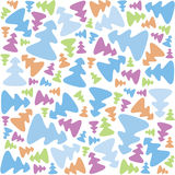 Christmas-tree-pattern-2 Stock Image