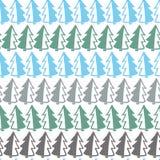 Christmas tree pattern Royalty Free Stock Photo